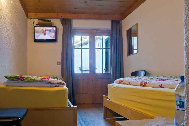 Bed and Breakfast Livigno centro Baita Luleta Camera Standard Letti singoli