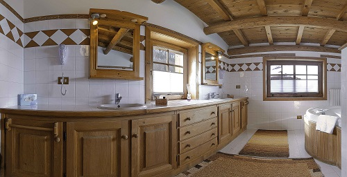 Bed and breakfast Livigno Baita Luleta Suite Doppio Lavandino