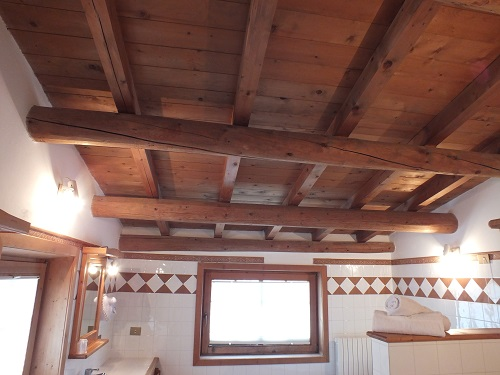 Bed and breakfast Livigno Baita Luleta Suite Soffitto in legno