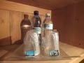 Bed and breakfast Livigno Baita Luleta Suite bottiglietta acqua